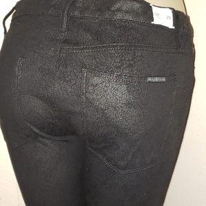 HUDSON NICO SUPER SKINNY BLACK  PANTS